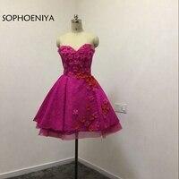 Новое поступление Фиолетовый Короткие Cockatil платья 2018 халат Коктейль Vestido De Festa Формальное вечернее платье