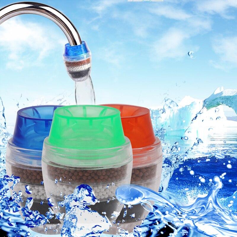 Домашний домашний кухонный мини-смеситель для крана очиститель воды картридж