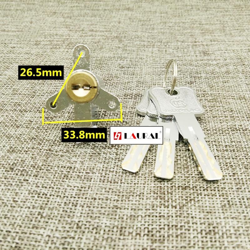 Hotel Lock Core Three-Hole Triangle  Hotel Door Lock Core Cylinder Electronic Door Lock SJt3