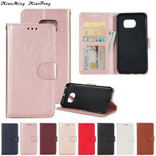 Luxury Fashion Business Leather For Coque Samsung Galaxy S7 Edge Case Cover Flip Leather Wallet Phone Case Samsung S7 Edge Cover