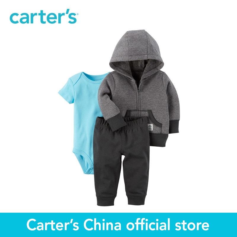 Carter's 3-Piece baby children kids clothing Boy Spring Fall Little Jacket Set 121H902 комбинезоны little boy комбинезон трансформер