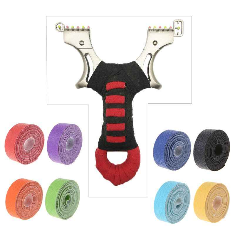 Slingshot Tape Sweat Absorb Adhesive Protective Catapult Non Slip Hunting Shooting Badminton Grips Accessories Litchi Texture Wr