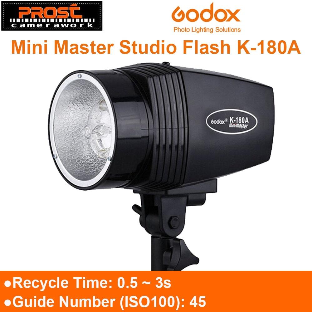 Godox K-180A 180W Monolight Photography Photo Studio Strobe Flash Light Head K180A Mini Master Studio Flash