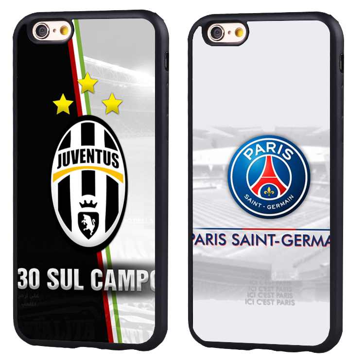 Juventus Football Soccer fc club chelsea pride Soft TPU Silicone case Cover For iPhone X 8 7 7Plus 6 6S Plus 5 5S SE
