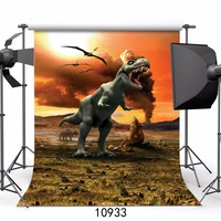 SJOLOON baby vinyl photography background dinosaur photography background digital print photo backdrops fond photo studio props