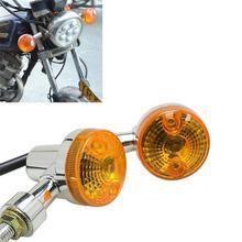 Универсальный 5 Вт 12 в передний задний мотоцикл поворотники команды Ламповые индикаторы Янтарный светильник s лампа мотор указатель поворота светильник