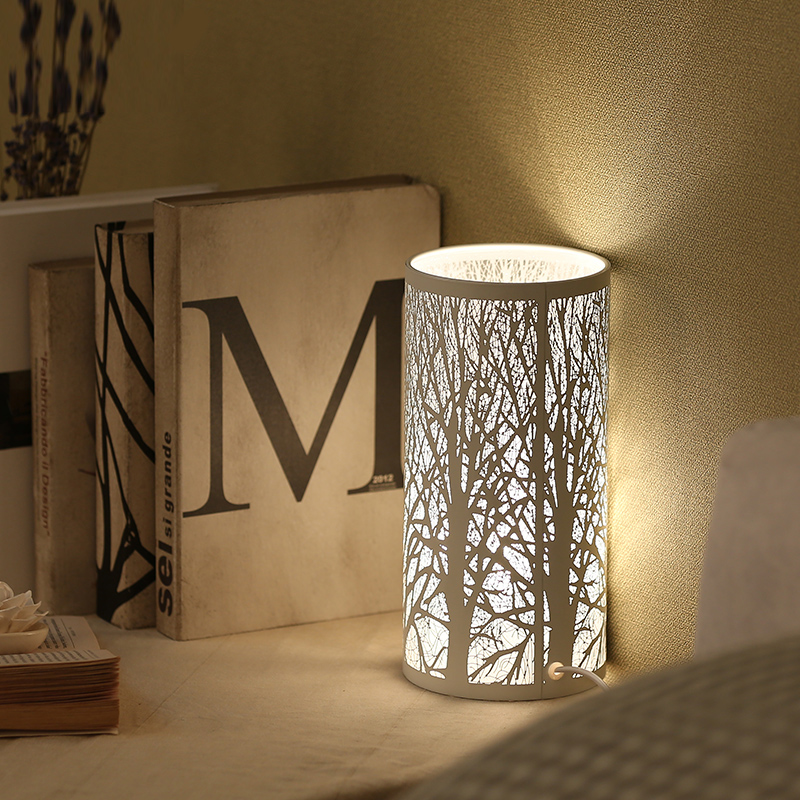 Forest Nordic small lamp bedroom modern minimalist table ...