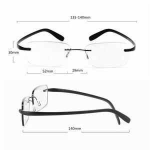 Image 5 - Очки для близорукости в титановой оправе без рамки