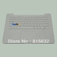 "3pcs/lot 95% NEW FOR Macbook Unibody 13 "" A1342 Top Case /spanish keyboard & Touchpad"