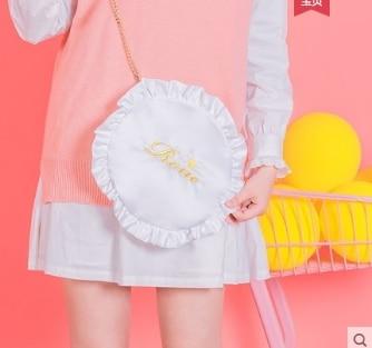 Princess sweet lolita bag Love pillow women soft sister satchel shoulder bag lovely and fashion Japanese pancake bag ZV012 цена 2017