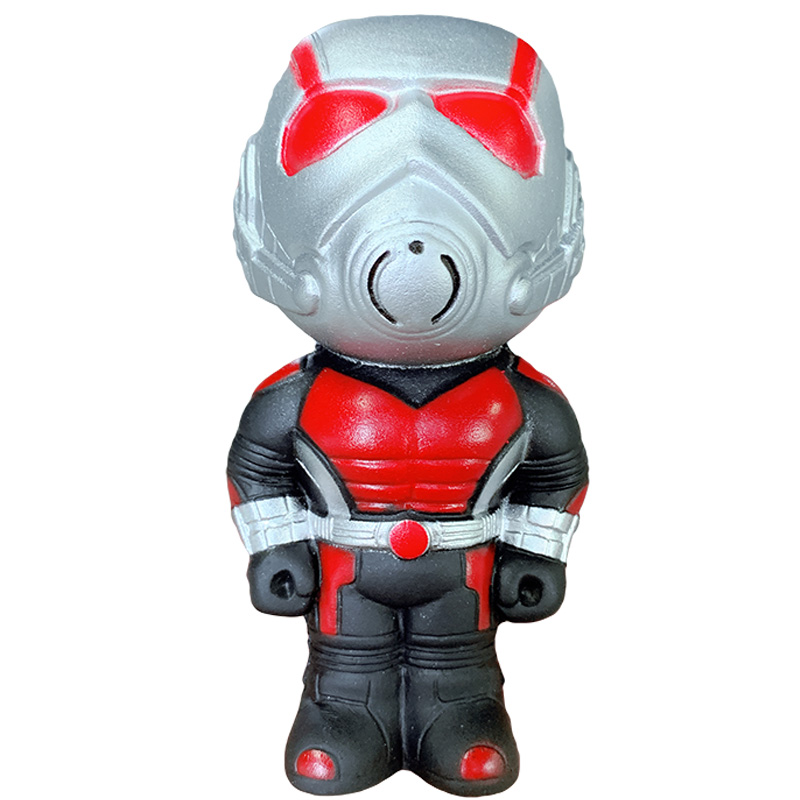 Kawaii Jumbo Avengers Ant Man Squishy Slow Rising Simulation Squeeze Toys Novelty Soft Stress Relief Funny For Kid Xmas Gift Toy