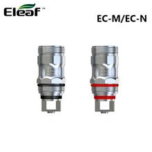 5 sztuk oryginalny Eleaf EC-M EC-N 0 15ohm cewki ECM cewki głowy wymiana parownika nadaje się do iJust ECM Atomizer vs EC2 tanie tanio CN (pochodzenie) Eleaf EC-M Coil EC-N Coil Eleaf iJust ECM Atomizer Podwójny DS