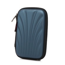 Shell Pattern Portable 2.5″ External HDD Hard Disk Drive Powerbank Bag EVA PU Carry Case Pouch