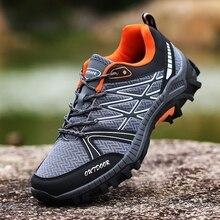 Mortonpart, Мужская походная обувь, противоскользящая, для скалолазания, походов, прогулок, износостойкие, дышащие, для рыбалки, спортивные кроссовки