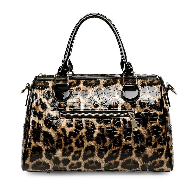 2017 New Fashion Leopard Print Bags Two Piece Per Set Wallet Handbags Women Bag Shoulder Crossbody Bolsa In Top Handle From Luggage On