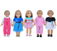 5 Style Dress Is Suitable For 18 Inch American Girl Doll Clothes Is To Give The