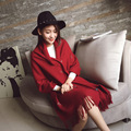 The new solid embroidery women scarf Ladies warm winter shawl Thickening students scarf