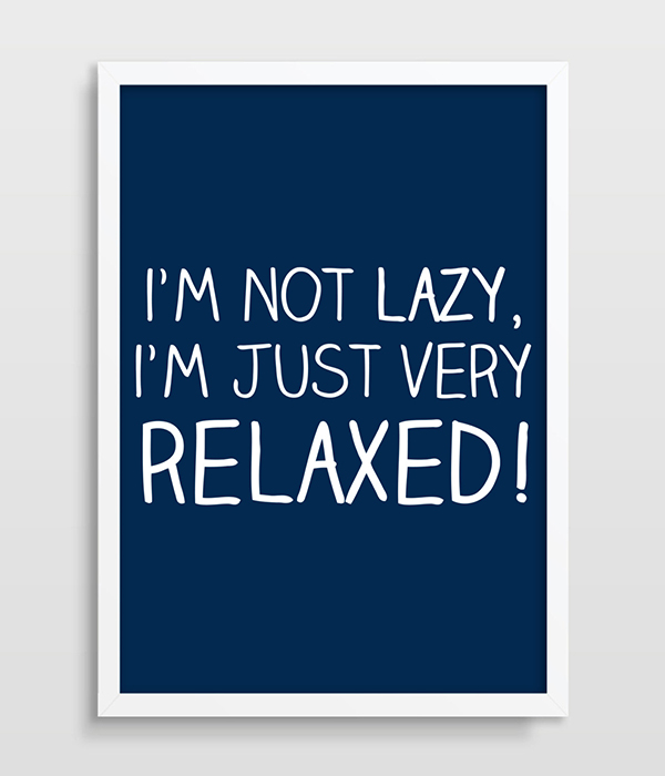 funny office poster. Typographic Print, Funny Office Poster, Typography, Lazy People, Home Poster F
