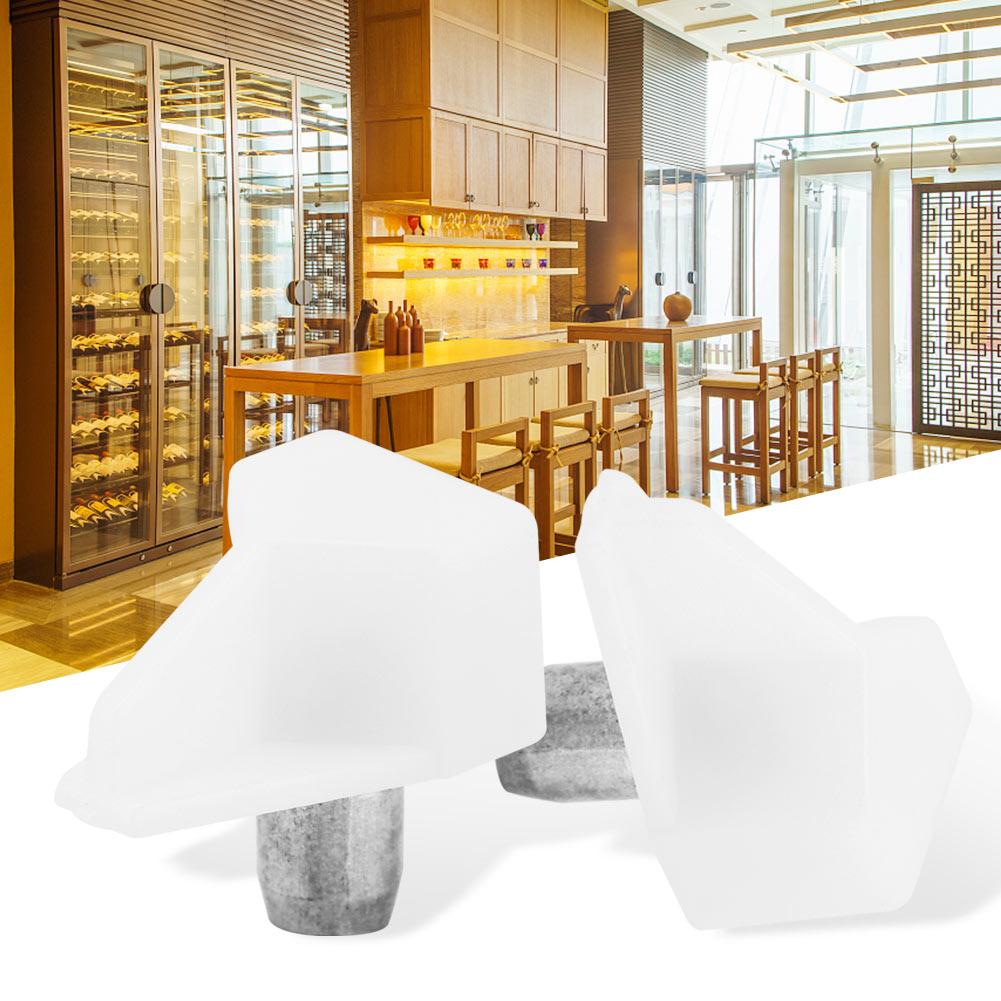 NEW Shelf Support Pegs Studs Plug Pin Glass Board Bracket For Cabinet Wardrobe