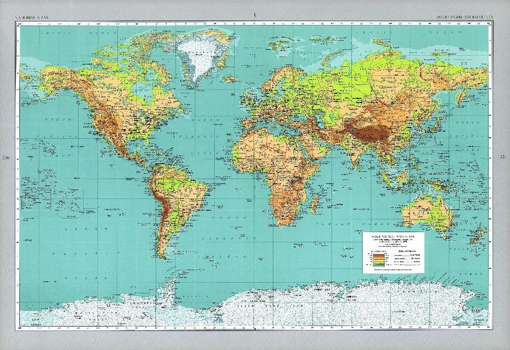 X Us Maps - 40x60 us maps