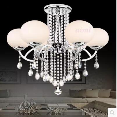 pofon csillár lámpa, modern, kortárs galvanizált funkció a k9 - Beltéri világítás