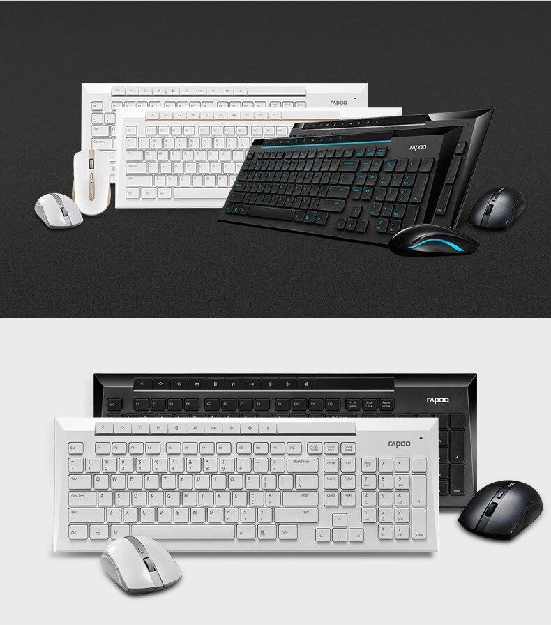 Rapoo 8200P Multimedia Wireless Keyboard Mouse Combo Rapoo 8200P Multimedia Wireless Keyboard Mouse Combo HTB1wRZTOFXXXXaZapXXq6xXFXXX3