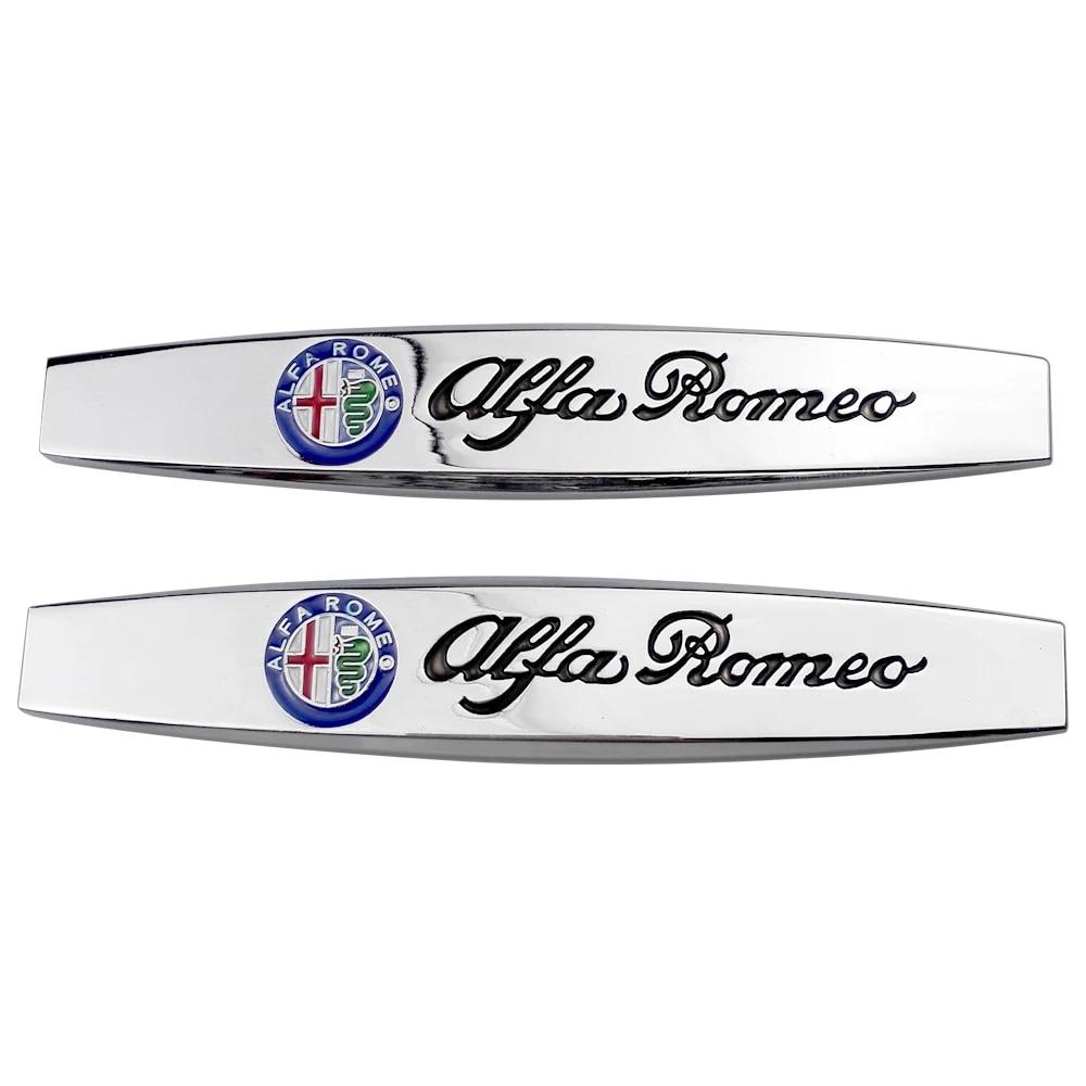 Car Sticker Decals Stickers Metal Emblem Logo Accessories for Alfa ...