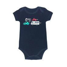 Newborn Baby Bodysuit Print Body Suit Fashion Summer Children Girl Boy short Sleeve Toddler Jumpers Infant