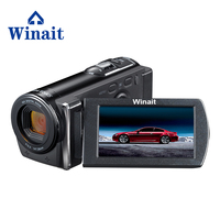 Freeshipping winait 12MP 5.0MP CMOS Professional Video Camera DVR 3.0 720P HD Digital Video Camcorder PC Cam Voice Recording