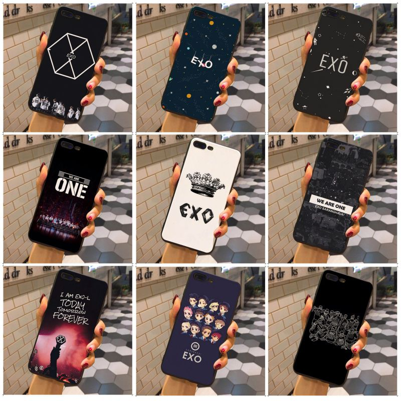MaiYaCa EXO lovely black soft tpu Phone Accessories Case For iphone