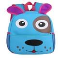 4 colors adorable dog puppy design school backpacks kindergarten children's bag for baby girl and boys knapsack, canine patrol