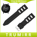 22mm faixa de relógio de borracha de silicone + ferramenta para moto 360 2 46mm samsung gear 2 r380 neo r381 live r382 cinta correia de pulso bracelt preto