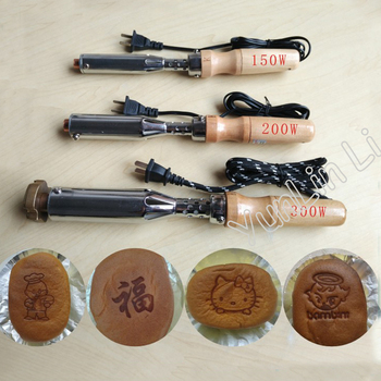 Manual Cake Branding Machine Wood Marking Embossing Machine Handable Stamping Machine