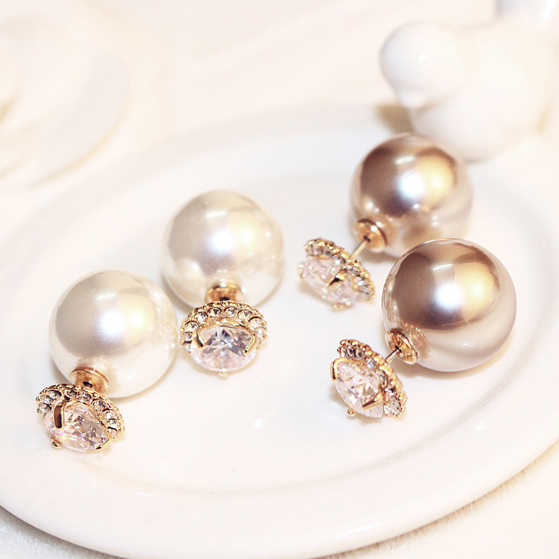 1card white half drilled Freshwater Pearl Stunning Wholesale 96 PCS