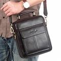 Hot Sale Men's Messenger Bags 100% Natural Genuine Leather Handbags Famous Brand Men Fashion Casual Shoulder Bags