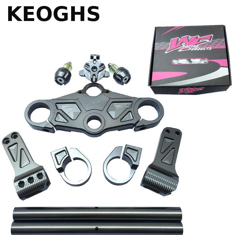цена на Keoghs Motorcycle Handlebar Cnc Aluminum Alloy For Honda Msx125 For Monkey Motorbike Modify