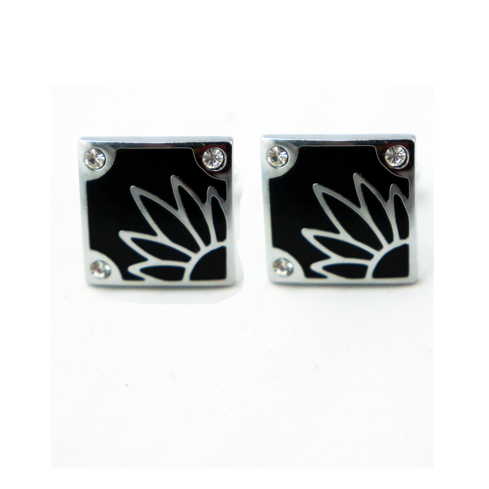 AE21 Flower design Shirt cuff cufflinks for mens fathers day gifts