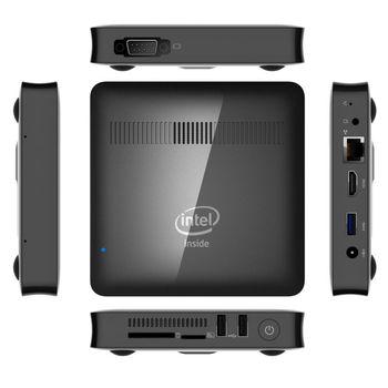 T7 II Mini PC Windows 10 Intel Cherry Trail Z8350 1.92GHz 2GB RAM 32GB ROM HDMI output 2.4Gz WIFI Bluetooth 4.0 USB3.0