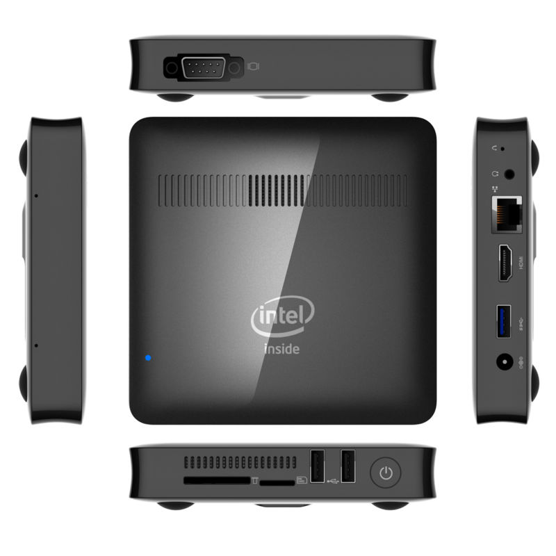 T7 II Mini PC Windows 10 Intel Cherry Trail Z8350 1.92GHz 2GB RAM 32GB ROM HDMI uitgang 2.4Gz WIFI Bluetooth 4.0 USB3.0-in Mini-pc van Computer & Kantoor op AliExpress - 11.11_Dubbel 11Vrijgezellendag 1