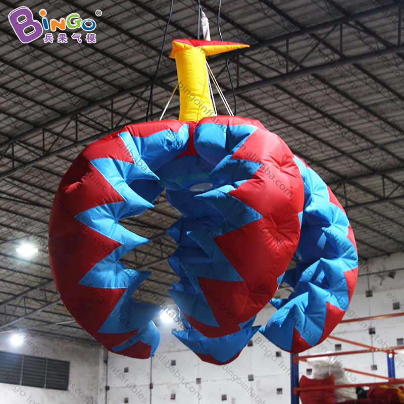 2019 Latest Design Personalized 2 Meters Thorn Type Inflatable Flower / Inflatable Custom Flower / Exhibition Inflatable Flower Toys High Resilience