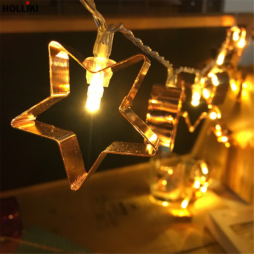 1m 2m 3m led wire light string novelty fairy rose gold. Black Bedroom Furniture Sets. Home Design Ideas
