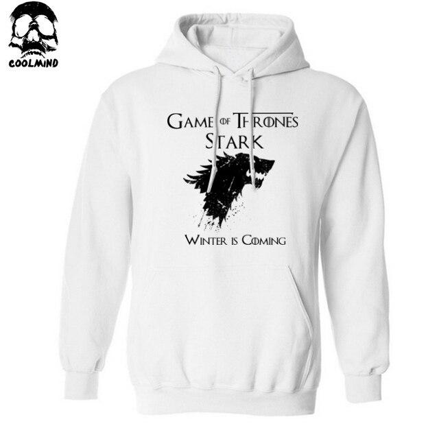 Game of Thrones Winter is Coming Hoodie