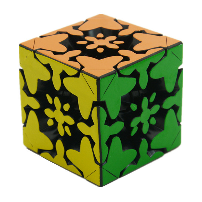 Fangcun Rapid 3x3x3 Mixup Gear Cube Heat Printing 3d Puzzle Cubes Educational Toy Special Toys For Children Magic Cubes Toys & Hobbies