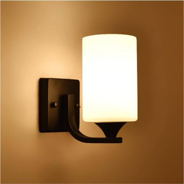 Hghomeart Vintage Iron Wall Mounted Bedside Lamps Lamp Sconce 110v 220v