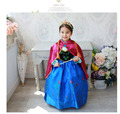 retail 2015 new cosplay dress stage costume dress, girls dresses with red cloak, baby kids child baby clothing