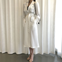 2019 Top Hot Sale Cotton Polyester Casual Full Casaco Feminino Trench Coat For Women Woman Windbreaker Section Long