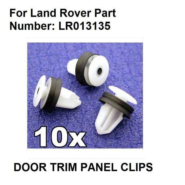10x Plastic Trim Clips voor Land Rover Deur Kaarten & Interieur ...