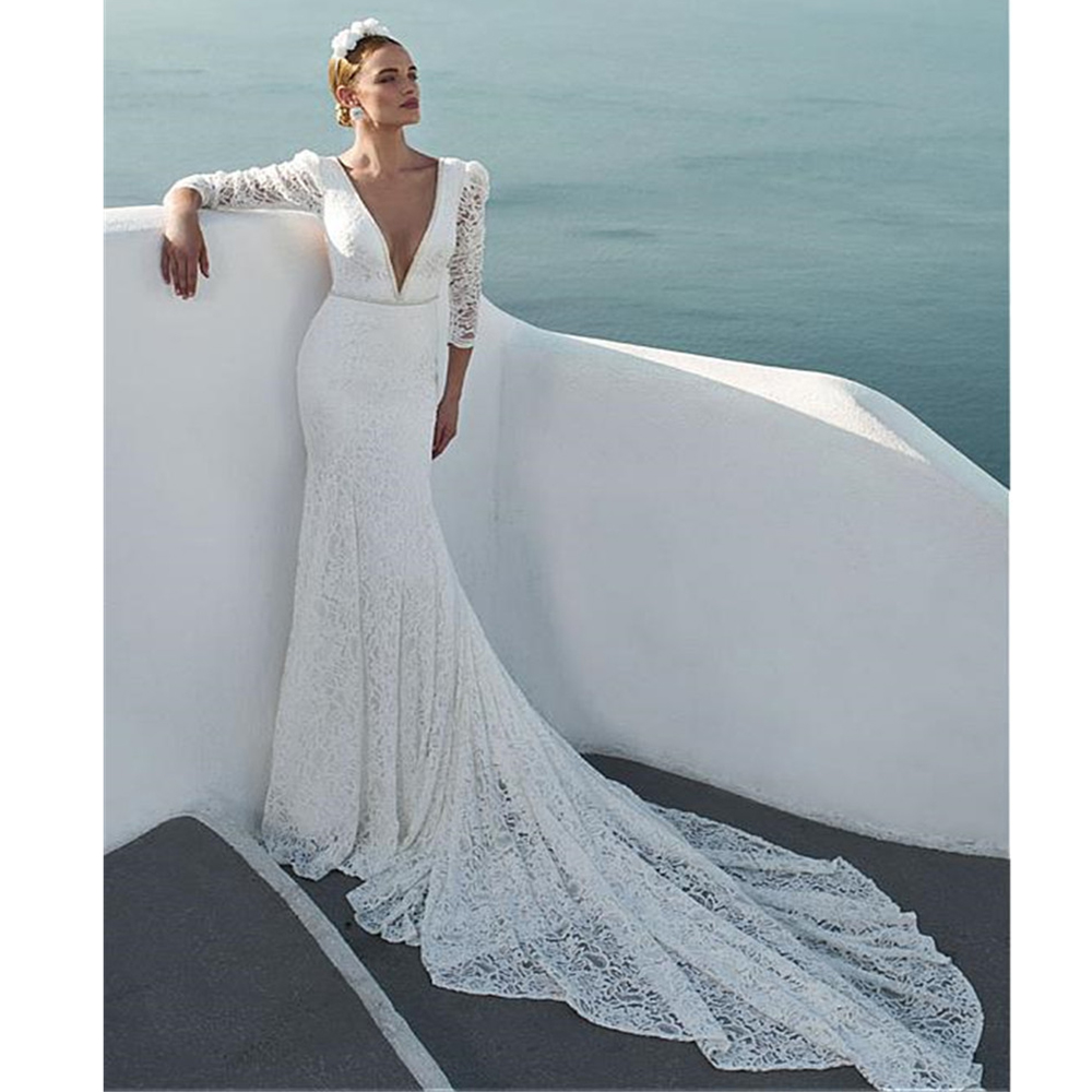 High Quality Hand Made Lace Mermaid White And Ivory