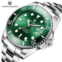 PAGANI DESIGN Luxury Brand Mechanical Watch Men Waterproof Automatic Self Wind Stainless Steel Business Wrist Watch montre homme