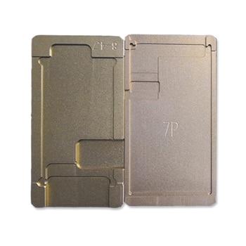 Novecel Polarisator Mould Voor Iphone Serie LCD Verwijderen Polarisator Film Lijm Lijm UV Lijm Mold Houder OCA Mold Voor Screen Reparatie